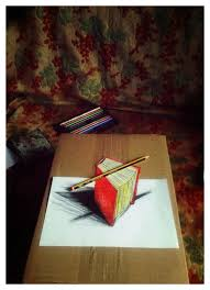 red book 3d drawing by snake silent