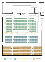 Seating Charts Tupelo Music Hall