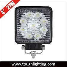 China LED Car Lights <b>4 Inch Square 27W</b> LED Tractor Lights ...