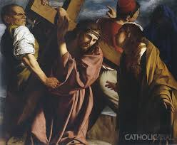 the meeting on the way of the cross gent 54 paintings of the passion