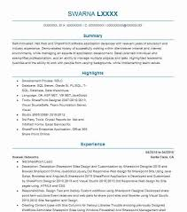 Sharepoint Developer Resume Magnificent Sharepoint Developer Resume Sample Developer Resumes LiveCareer
