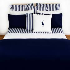 navy polo comforter set