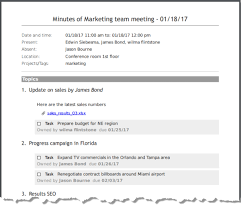 Minutes Of The Meeting How To Write Meeting Minutes Quickly And Easily Meetingking