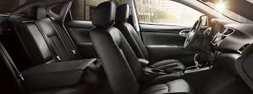 enjoy the spacious interior of nissan s compact car 2018 nissan sentra folded rear seat 1075 o