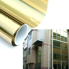 reflective glass 1 way window gold silver reflective one way mirror window mirrored