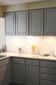 Houzz Kitchen Tile Backsplash Gray Cabinets With White Subway Tile Backsplash Gray Kitchen