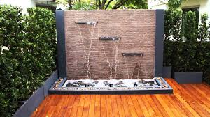 modern outdoor water fountains amazing inspiration ideas  garden