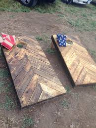 Wooden Corn Hole Game High End Corn Hole Boards Tailgate Toss Corn hole Tailgating 7