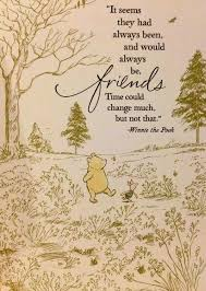 Preparing For Change Trying Not To Panic Pooh And Piglet Interesting Pooh Quotes About Friendship