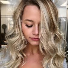 blonde hair with brunette lowlights