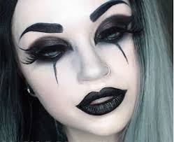 makeup hair ideas a bit of a joker mouth for my taste