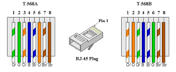 cat 5 wiring diagram a or b wirdig