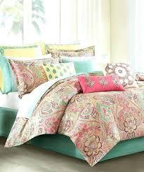 c comforter set sets mint paisley bedding king color