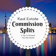 real estate commission splits