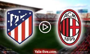 نتيجة مباراة ميلان واتلتيكو مدريد اليوم في دوري أبطال أوروبا بتاريخ  2021/09/28 - Yalla Live