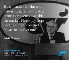 Milton Friedman Quotes New AEI On Twitter Here Are 48 Of MarkJPerry's Favorite Milton