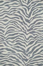 grey animal print cassidy rug by loloi rugs nuloom grey zebra rug