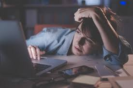 Image result for pictures of homework with a hangover