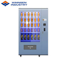 Vending Machine Glass Magnificent China Winnsen Red Wine Champagne Beer Vending Machine With Elevator