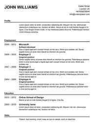 Free Printable Resume Templates Beauteous Free Printable Resume Templates Learnhowtoloseweightnet