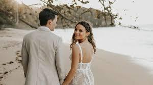 35 <b>Beach Wedding Dresses</b> Perfect for a Seaside Ceremony