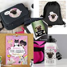 image is loading personalised pug gifts pugs diary mug lunch