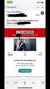 drake and migos tour td garden 2 tickets