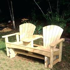 double adirondack chair plans. Double Adirondack Chair Plans