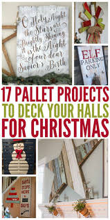 Diy Pallet Projects Best 25 Pallet Projects Christmas Ideas Only On Pinterest