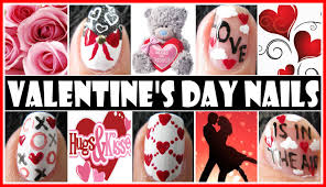 VALENTINE'S DAY NAIL ART DESIGNS - LOVE IS IN THE AIR NAIL ...