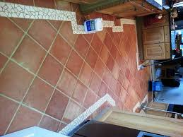 Terracotta Floor Tiles Kitchen Restoration Stone Cleaning And Polishing Tips For Terracotta Floors