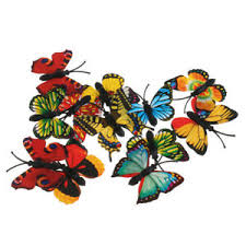 Pack of 12 <b>Simulation</b> Animal Butterfly Figurines Story Telling Prop ...