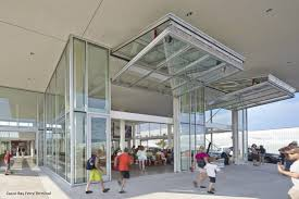 casco bay ferry terminal wilson industrial doors clear vue glass bi fold