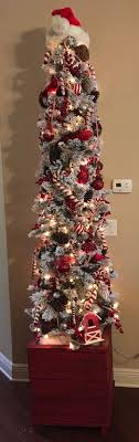 CHRISTMAS TREE~RED CANDY CANDY TREE