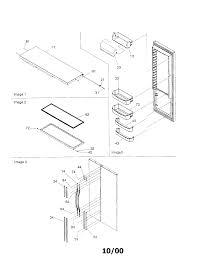 Natural miele refrigerator door handles door handle refrigerator