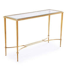 gold console table. Liza Antique Gold Console Table