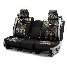 coverking mossy oak 1st row two tone break up custom seat covers