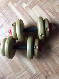 york weights for sale. adult york barbell dumbbells weights for sale