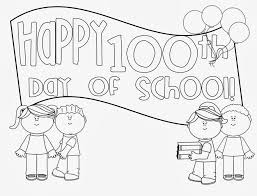 100th day of school coloring pages 100th day of school coloring ...