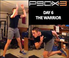 p90x3 day 6 the warrior