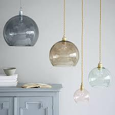 west elm lighting. Fancy Glass Pendant Lights Coloured West Elm Lighting