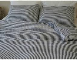 alluring pinstripe duvet cover combine with navy and white striped cover natural linen custom size springs