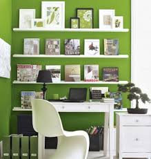tiny office ideas. Attractive White Office Decorating Ideas Tiny For Home Business Decoration Features Green
