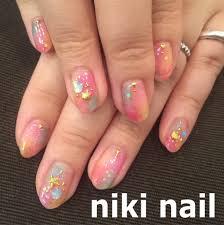 カラフルネイル Niki Nail Blog Mili Hairniki Hairnail