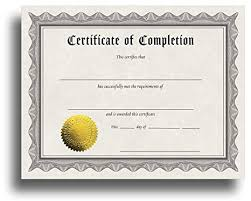 Completion Certificates Certificate Of Completion Certificate Paper With Embossed Gold Foil Seals 30 Pack Parchment Award Certificates For Students Teachers Employees