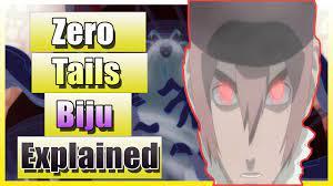 Zero Tails Biju Explained naruto shippuden movie bonds - YouTube