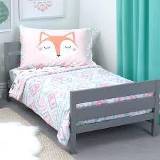 kids bed comforter toddler twin bed set girls bedroom decoration embroidered cat pink bedding sets children