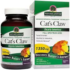 <b>Cat's Claw</b> Inner Bark <b>1350 MG</b> (90 Capsules) by Natures Answer at ...