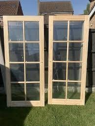 internal wooden door 15 glazed panels