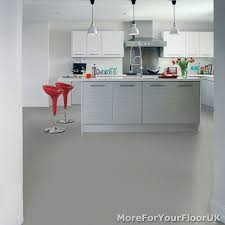Lino Flooring For Kitchens Details About Plain Grey Vinyl Flooring 3m Wide Anti Slip